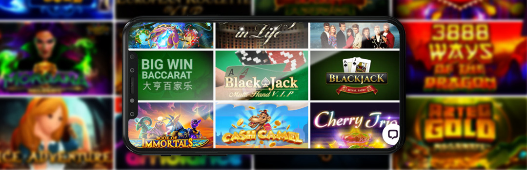 mobile casino test