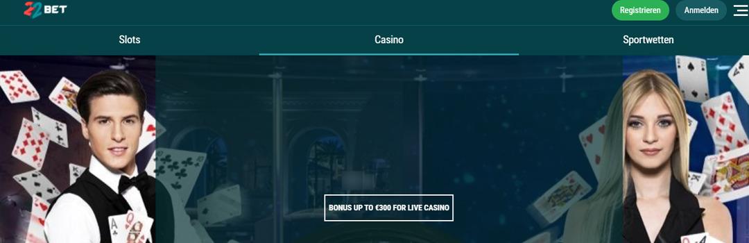 22bet - Das beste Online Casino für Schweizer Spieler