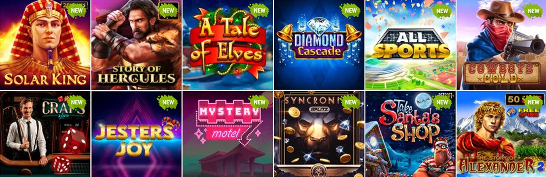 Beste neue Jackpot Slots im Casino Bob