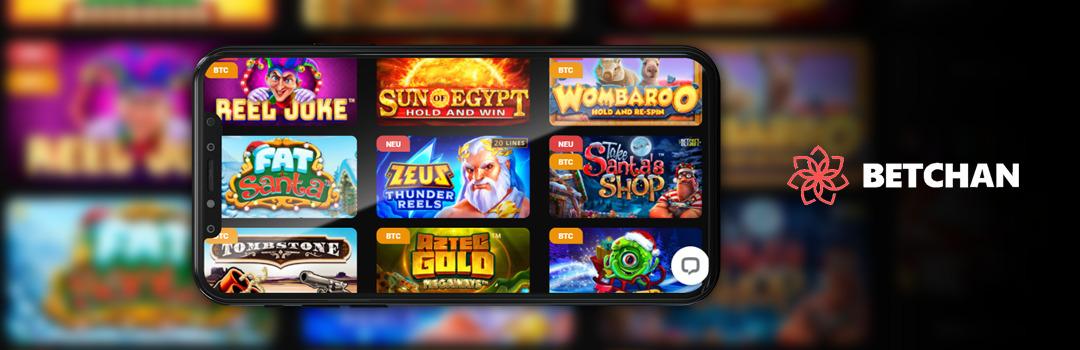 Die besten Spiele im Betchan Casino auf dem Handy
