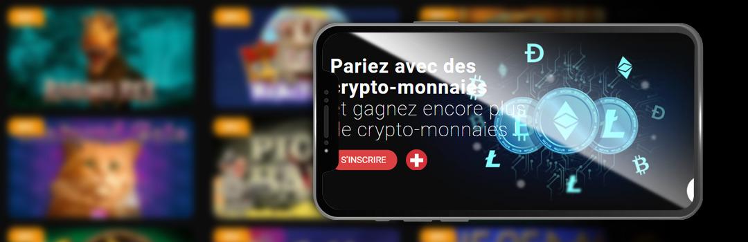 Meilleurs casinos Bitcoin en Suisse