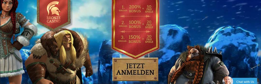 Bestes Casino der Schweiz - Bronze Casino