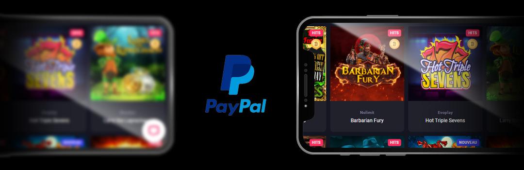 Les meilleurs jeux de casino Paypal sur mobile