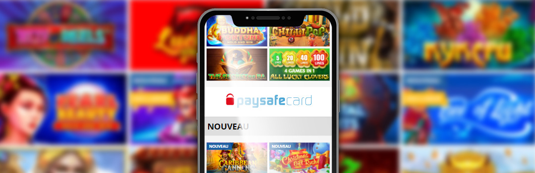 Meilleur jeu mobile dans les casinos Paysafecard