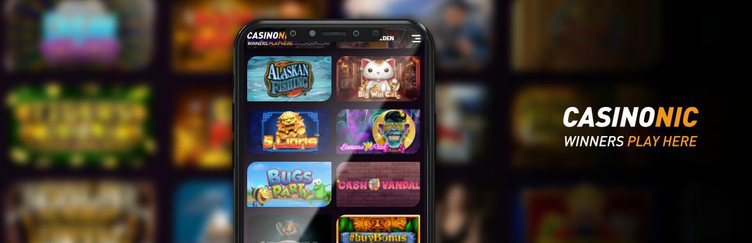 Die besten Casinonic Casino Slots für Handys