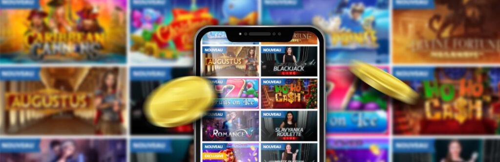 Meilleurs casinos en ligne pour de l'argent réel