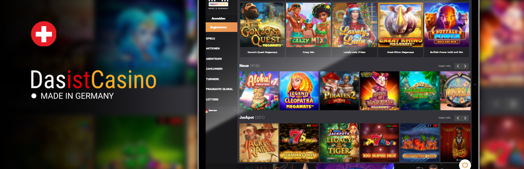 Die besten Slots im DasistCasino Online Casino für Handys