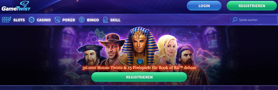 Top Online Casinos - Gametwist Casino Schweiz