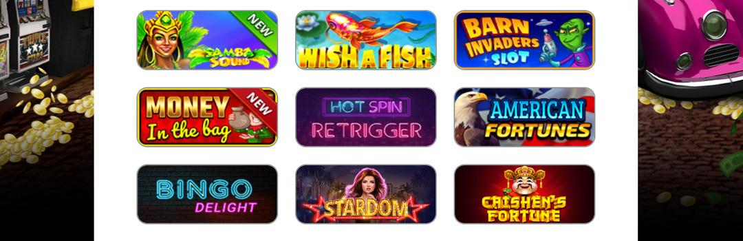Die besten Online Slots im Gratorama Casino