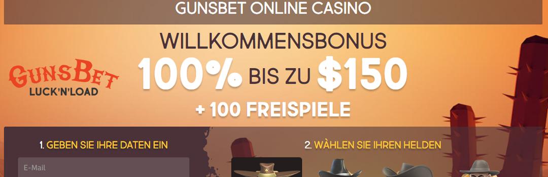 Die besten Bonusangebote für Schweizer vom Gunsbet Casino