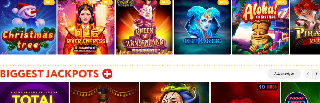 Beste Jackpot Slots im Slot Wolf Casino