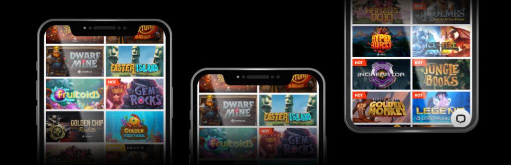 Les meilleurs jeux de votre casino mobile
