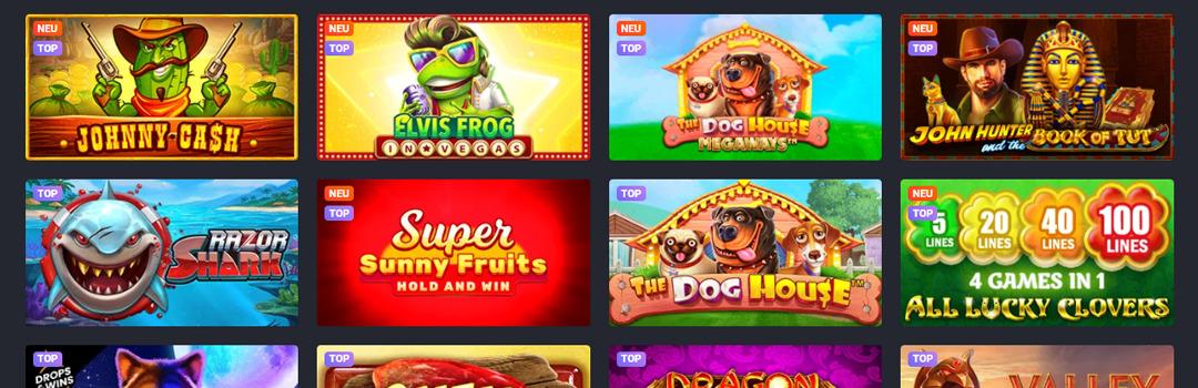 Liste der besten Joo Casino Spiele für Schweizer Spieler
