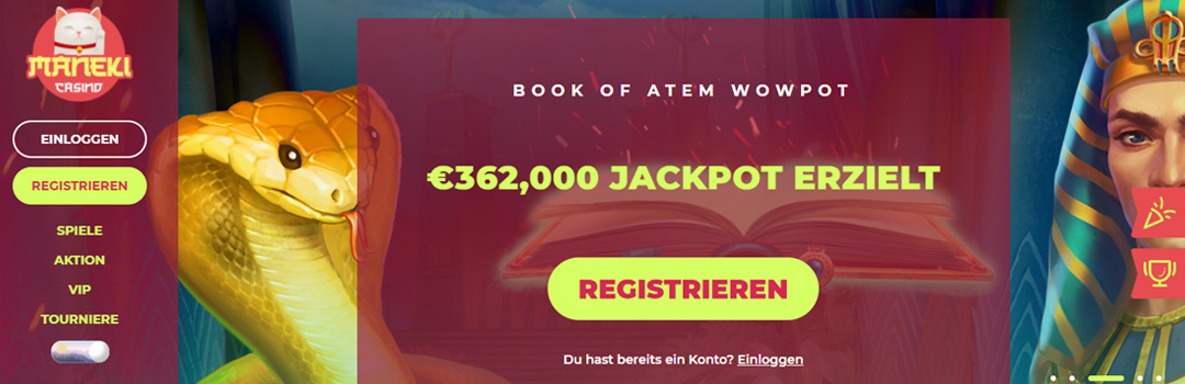 Beste Online Casinos mit großen Jackpots in der Schweiz