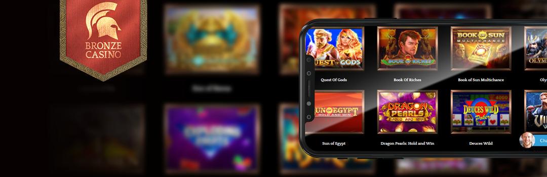 Beste Bronze Casino Spiele auf dem Handy