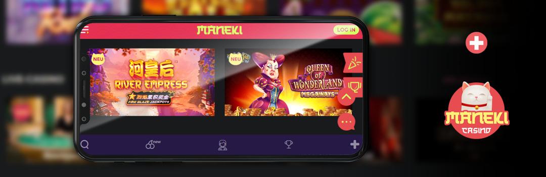 Glücksspiel in den besten Online-Casinos auf Mobilgeräten
