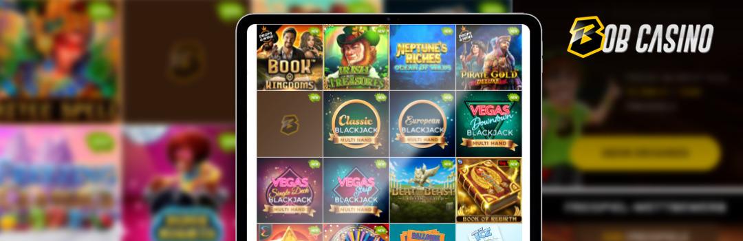 Beste mobile Slots im Bob Casino