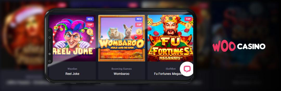 Bestes mobiles Online Casino der Schweiz - Woocasino