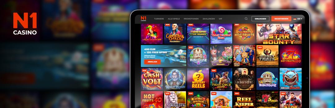 Die besten Online-Slots für Handys im N1 Casino