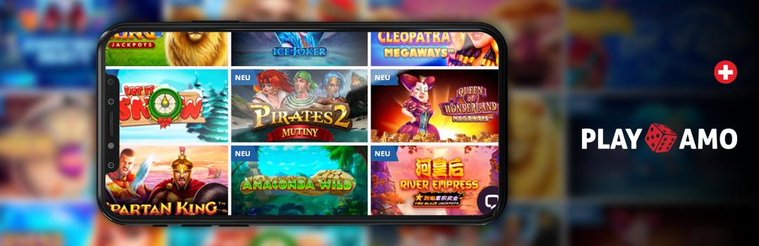 Beste Slots im Playamo Casino auf dem Handy