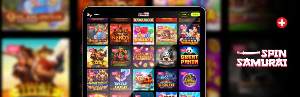 Beste Spiele Spin Samurai Casino auf dem Handy