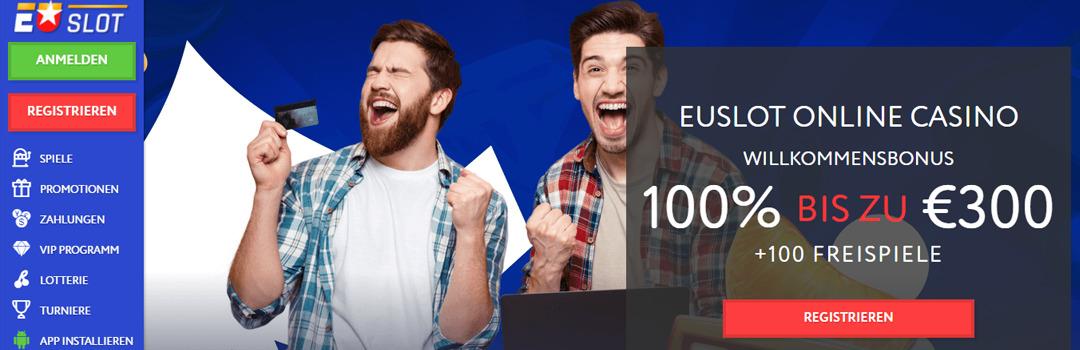 Bester Online Casino Euslot mit großzügigen Bonusangeboten