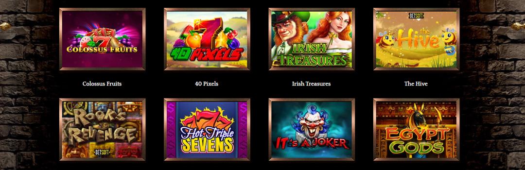Spielen Sie die besten Bronze Casino-Spiele