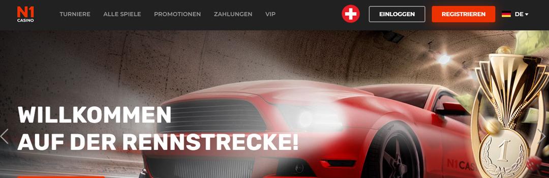 Bestes Online Casino für Schweizer Spieler - N1 Casino