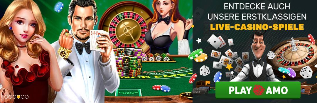 Beste Live Dealer Spiele im Playamo Casino für Schweizer