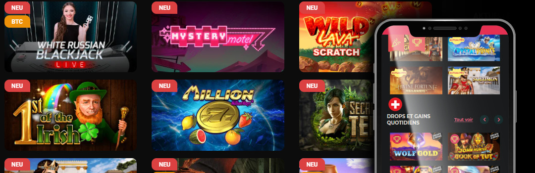 Les meilleurs types de jeux en argent réel