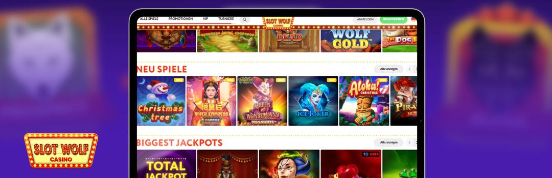 Bestes mobiles Glücksspiel im Slot Wolf Casino