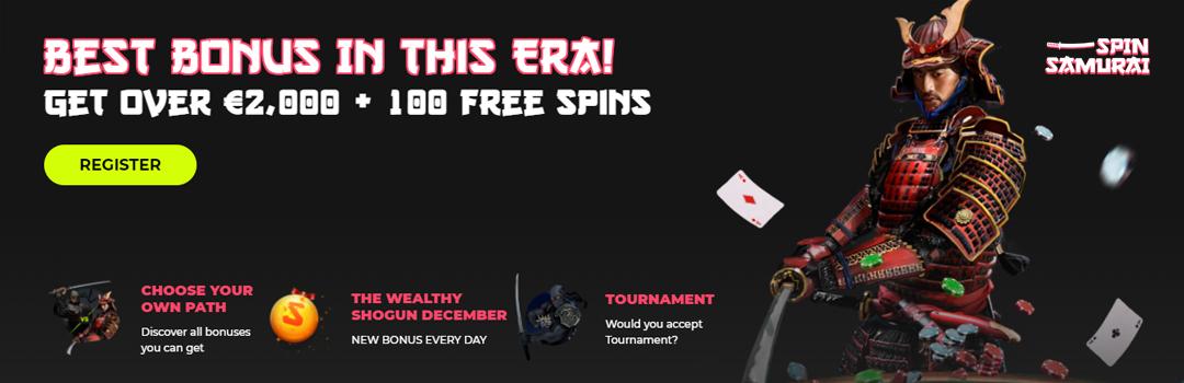 Beste Spin Samurai Casino Boni in der Schweiz