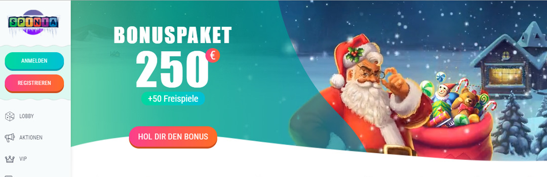 Bestes Online Casino mit großzügigen Spinia Casino Bonusangeboten