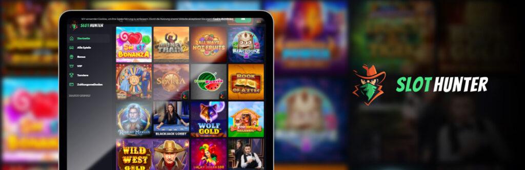 Das beste Online-Slots-Angebot im SlotHunter Casino für Handys