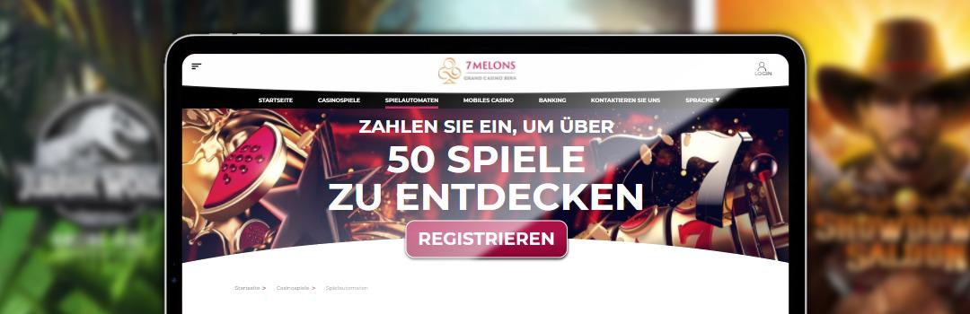 7 Melons - das beste lizenzierte Online Casino der Schweiz