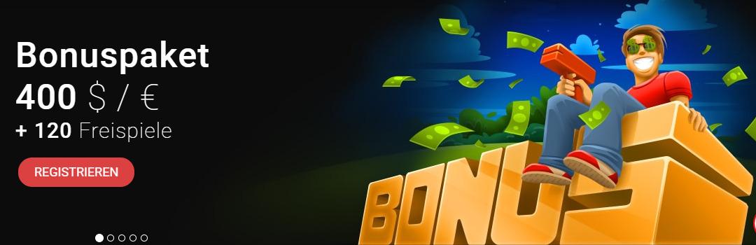 400 prozent bonusbedingungen
