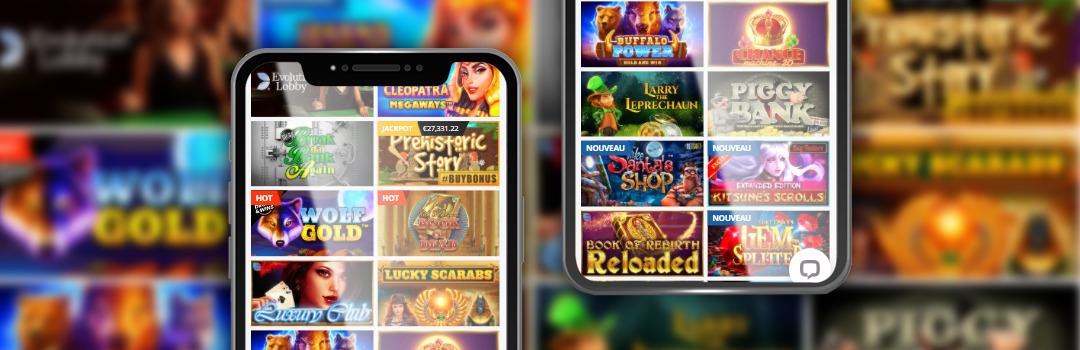 Les meilleurs jeux du casino PlayAmo sur les appareils mobiles