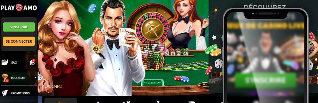 PlayAmo - le meilleur casino en ligne de Suisse