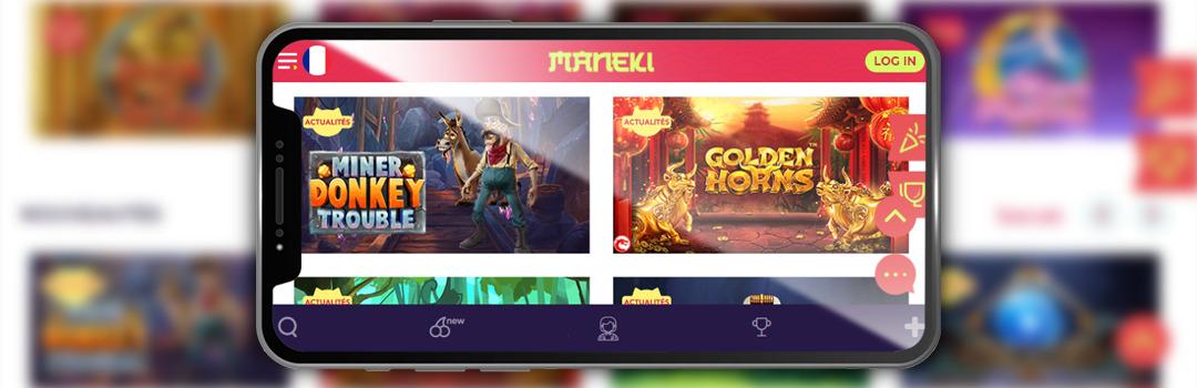 Meilleures machines à sous mobiles au casino Maneki sur mobile