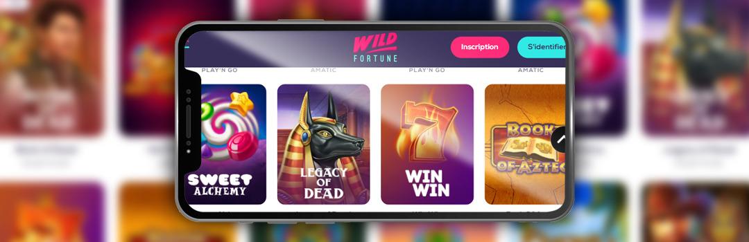Meilleures machines à sous du casino Mobile Wild Fortune