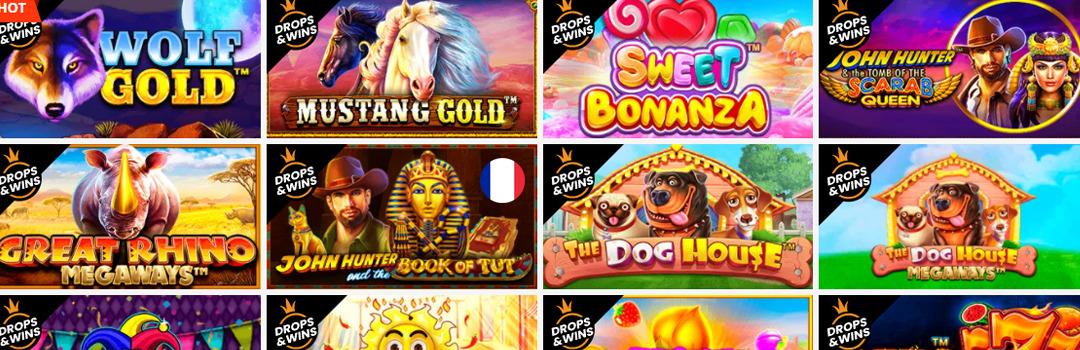 Meilleure offre de jeux de casino PlayAmo pour les Suisses