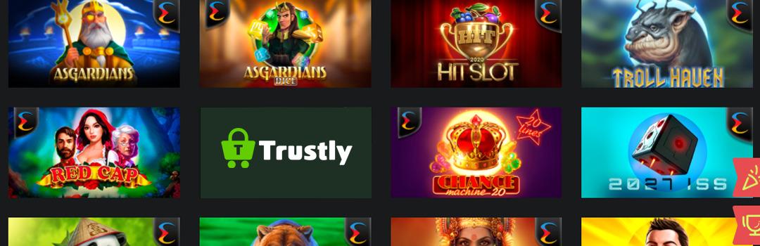jeux de casino avec Trustly