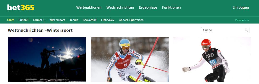 sportarten neuigkeiten