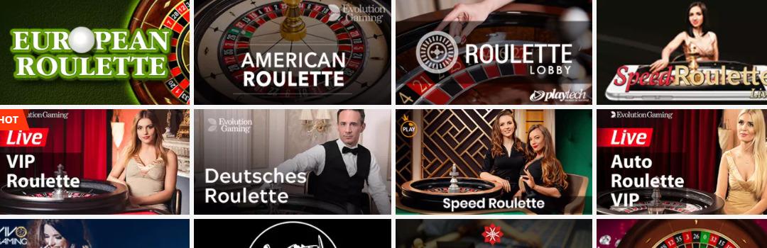 version européenne roulette