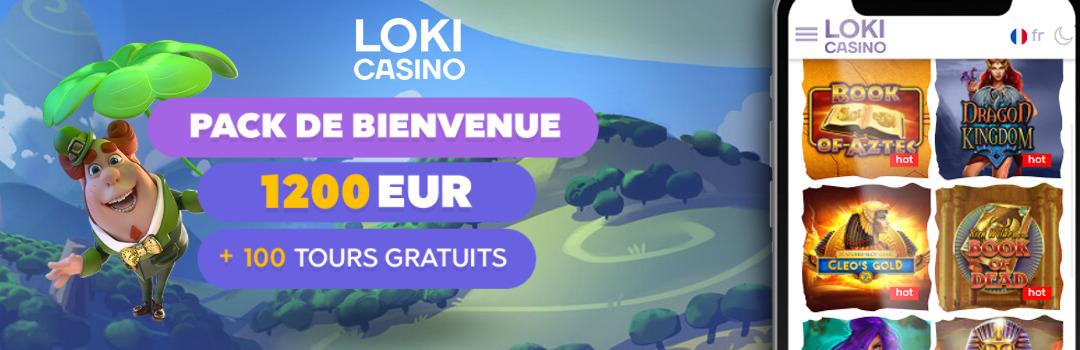 Loki Casino - le meilleur casino en ligne de Suisse