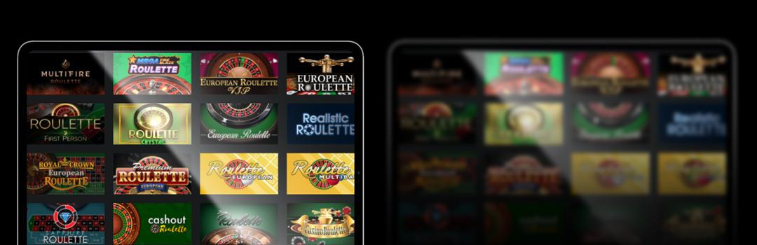 nombreux jeux roulette