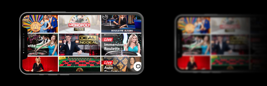 version mobile casino live