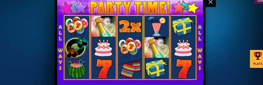 Spielen Sie Party Time Slot in der Schweiz