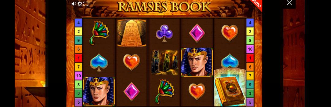 Ramses Book Slot in der Schweiz spielen