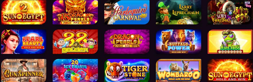 la meilleure offre de jeux pour les Suisses au casino Casinonic